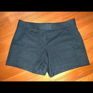 Theory Women Shorts (Dark Green)